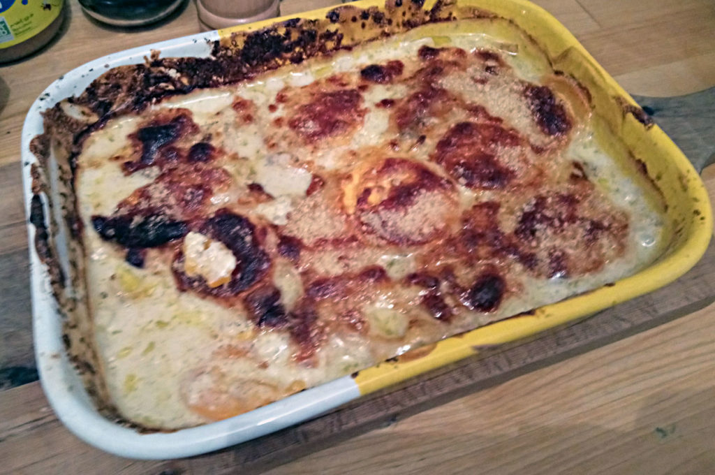 Sweet Potato Gratin by Cooking with Benoit